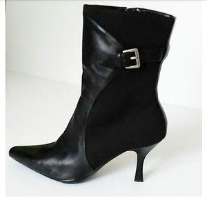 NINE WEST | Black Leather Boots